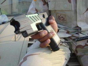 a taser gun